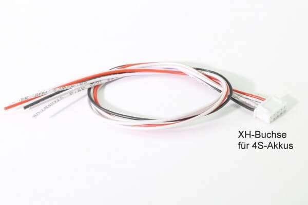 Balancerkabel mit XH Buchse für 4S-Akkus · Muldental