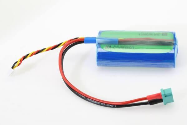 3500 mAh Lithium-Ionen LG HV Empfänger-Akku · 2S · 7,4 V ·  MPX · XH