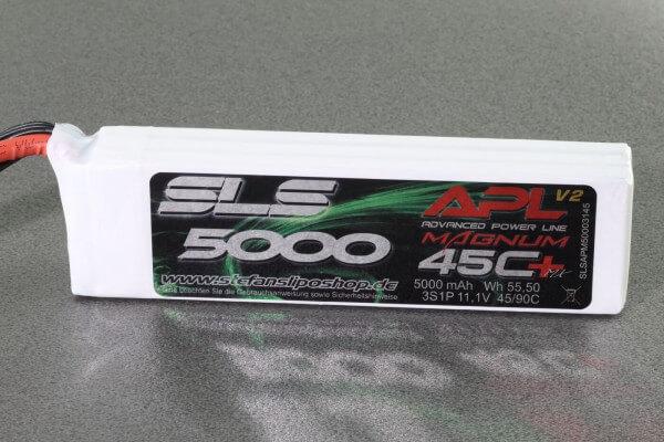 SLS APL MAGNUM V2 5000 mAh 3S Lipo (11,1V) 45 C · XT90