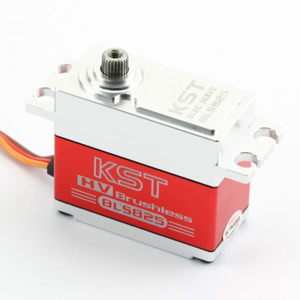 KST BLS 825 · 20 mm Brushless-HV-Servo bis 350 Ncm für Großmodelle