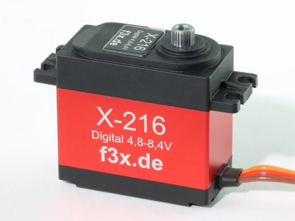 X-216 · 20 mm digitales HV-Servo bis 260 Ncm · 0,11 s · wasserdicht