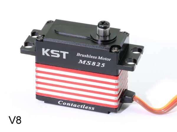 KST MS 825 V8 · 20 mm Brushless-HV-Servo bis 350 Ncm für Großmodelle