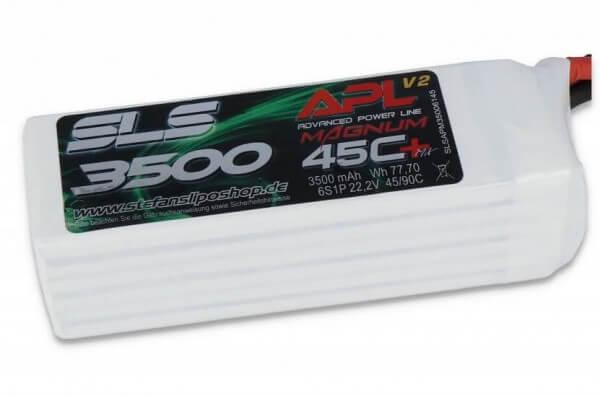 SLS APL MAGNUM V2 3500 mAh 6S Lipo (22,2V) 45 C · XT90