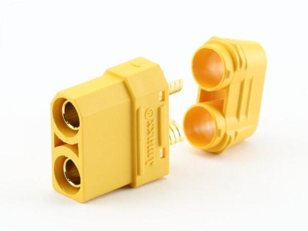 XT90 H Buchse · Nylon · Kontakte vergoldet · Amass High Quality Product