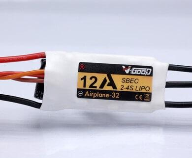 Airplane-32 · 4S · 12 A · 5,5 V SBEC · Brushless Regler · V-GooD