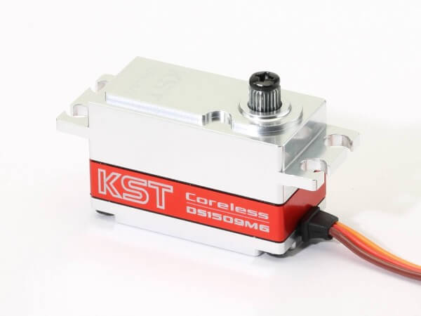 KST BLS 651 · 20 mm Low Profile Brushless-HV-Servo bis 130 Ncm