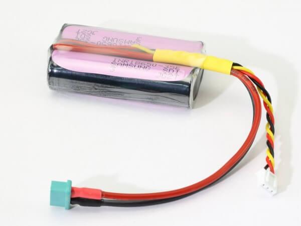 Lithium-Ionen HV Empfänger-Akku 3500 mAh · 2S · 7,4 V ·  MPX · XH Balancerkabel