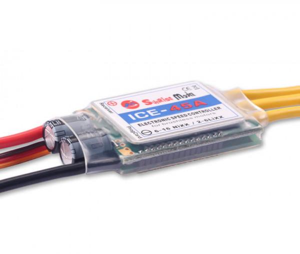 ICE 45 A-SBEC · Brushless Regler · Sunrise Model