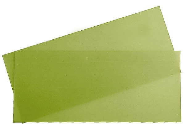 1,0 mm GFK-Platte · 350 mm x 150 mm · R & G