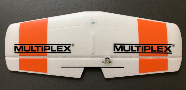 Höhenleitwerk für MPX FunRacer orange · Original Ersatzteil von Multiplex