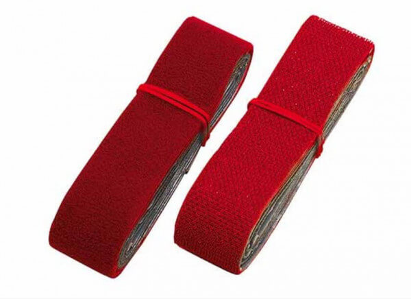 25 mm Klettband selbstklebend ·1000 mm Flauschband + 1000 mm Hakenband · Multiplex