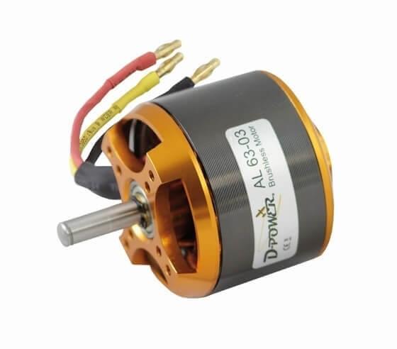 Brushless Motor AL 63-03 · D-Power
