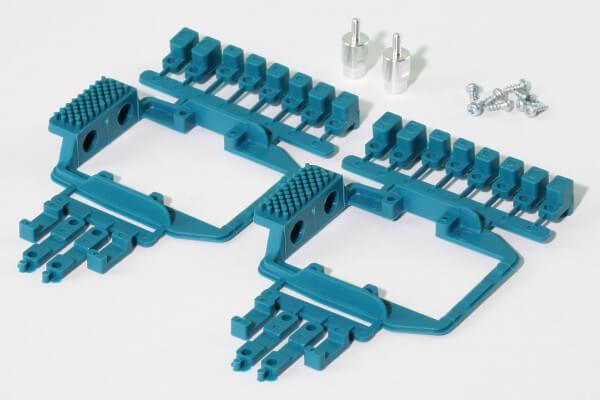 Servorahmen mit Gegenlager für X08, X08H, DS245S, DS245H, DS245MG