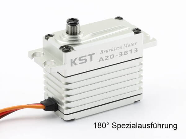 KST A20-3813 · 180 ° · 20 mm Brushless-HV-Servo bis 430 Ncm