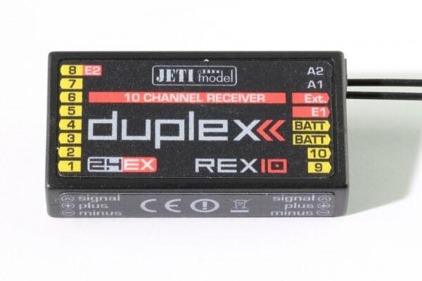 DUPLEX 2.4 EX Empfänger REX 10 · Jeti