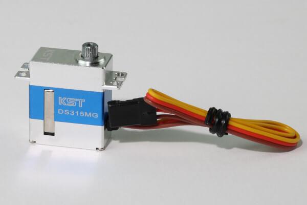 KST DS 315 · 12 mm digitales Micro HV-Servo bis 48 Ncm