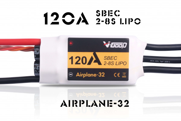 Airplane-32 · 8S · 120 A  · SBEC · Brushless Regler · V-GooD