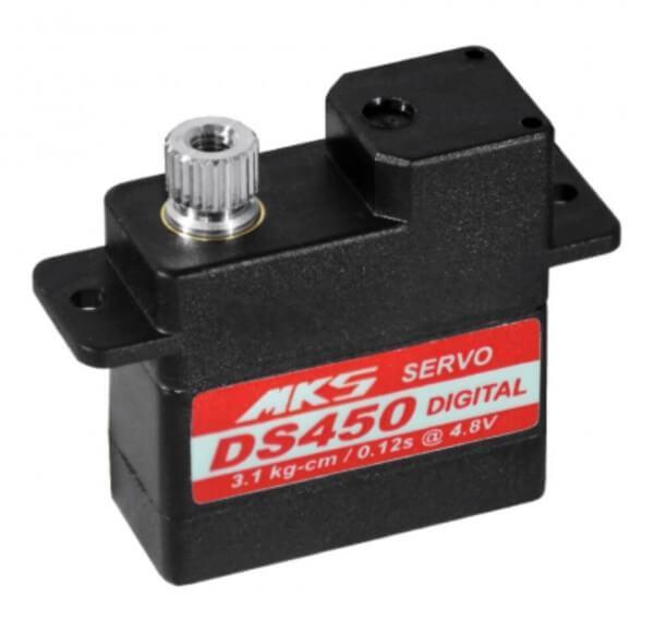 MKS DS 450 · 10 mm digitales 5-Volt-Servo bis 32 Ncm
