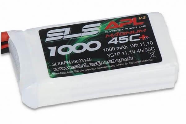 SLS APL MAGNUM V2 1000 mAh 3S Lipo (11,1V) 45 C · XT60