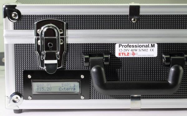 Professional M · ≈ 12-28 V · 20-50° C · Lipo-Heizkoffer · ETLZ