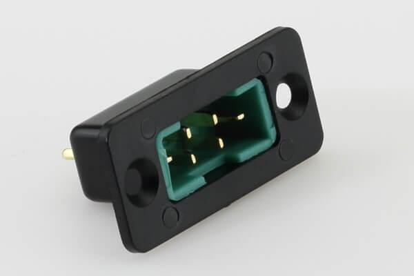 Einbaurahmen für 6-polige MPX Stecker · versenkt