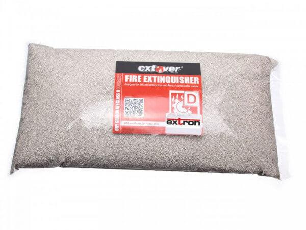 5 Liter Brandschutz Feuerlöschgranulat für Lithium Akkus · Extover