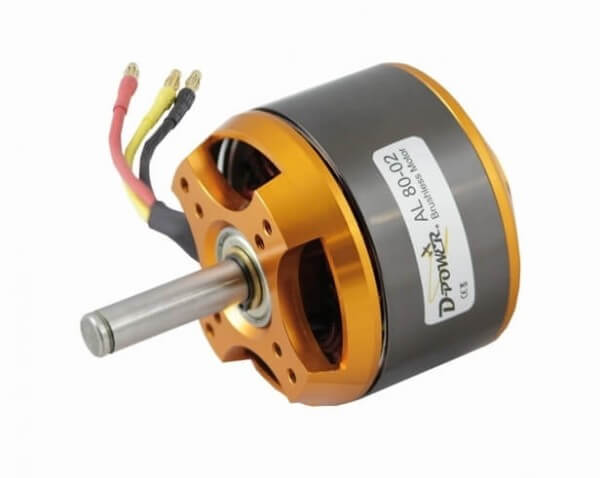 Brushless Motor AL 80-02 · D-Power