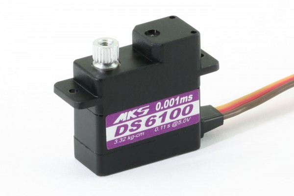 MKS DS 6100 · 10 mm digitales 5-Volt-Servo bis 33 Ncm