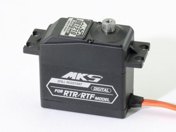MKS DS 1210 · 20 mm digitales 5,5-Volt Servo bis 92 Ncm