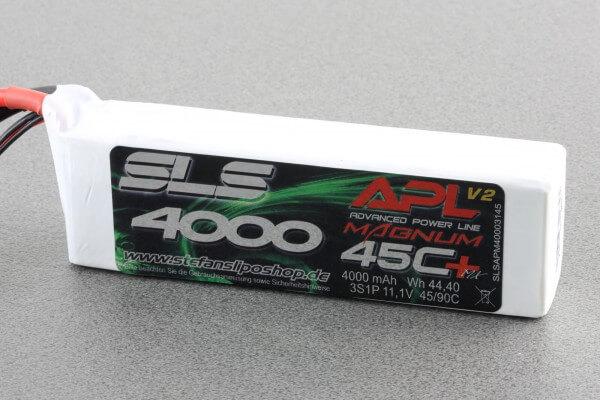 SLS APL MAGNUM V2 4000 mAh 3S Lipo (11,1V) 45 C · XT90