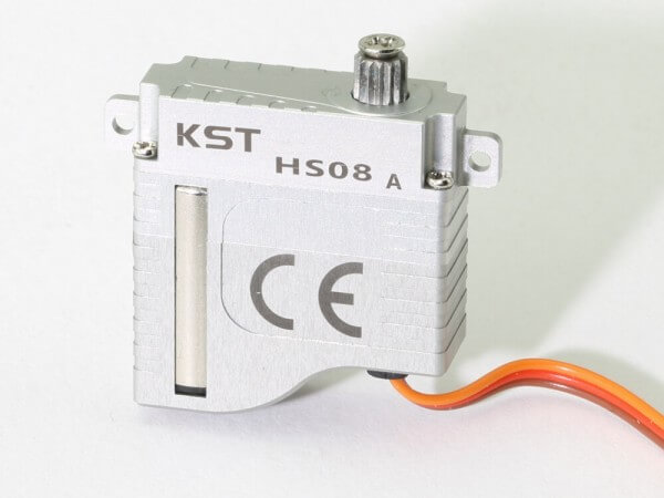 KST HS-08A · 8 mm digitales HV-Servo bis 51 Ncm