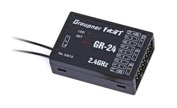 Empfänger GR-24 Hott 12-Kanal · Graupner