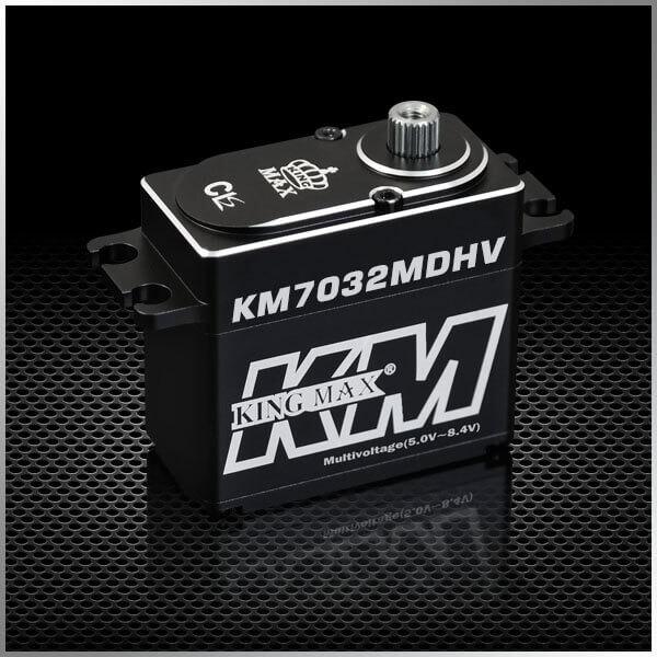 KM 7032 MD · 20 mm HV-Servo bis 352 Ncm · wasserdicht · Kingmax