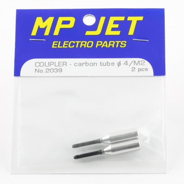 Schubstangenanschluss M 2 · für Ø 4,0 mm · 2er-Pack · MP-Jet