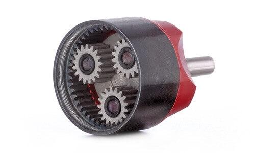 KPG27-Getriebe 5,2:1 · Kontronik