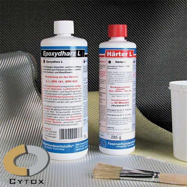 Epoxydharz L + Härter L · 1 kg-Set · R & G Faserverbundwerkstoffe