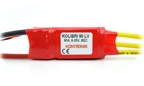 Kolibri 90 LV Brushless-Regler · Kontronik Drives