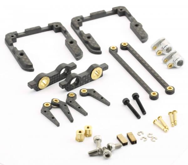 LDS Drive Kit CFK-Servorahmen mit Gegenlager für MKS HBL6625 u. HV6130