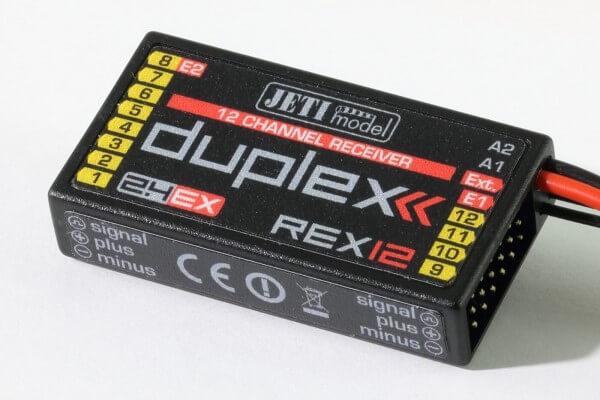 DUPLEX 2.4 EX Empfänger REX 12 · Jeti