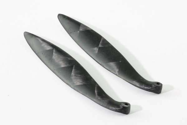 """10,6"""" x 25"""" · Marcel Schlage F5D Klappluftschraube · Made in Switzerland"""