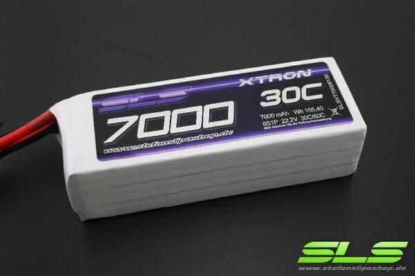 SLS Xtron 7000 mAh 6S Lipo (22,2V) 30/60 C · XT90-Stecker · Abholangebot