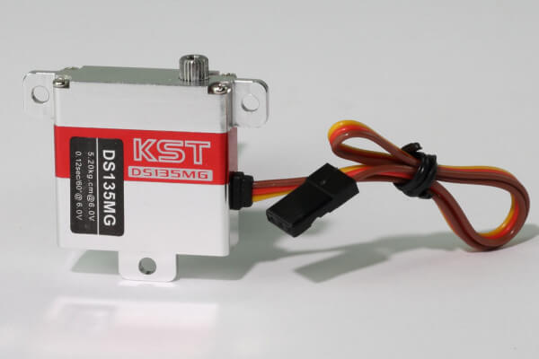 KST DS 135 MG · 10 mm digitales HV-Servo bis 52 Ncm