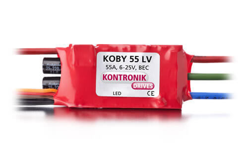 Koby 55 LV Brushless-Regler · Kontronik Drives