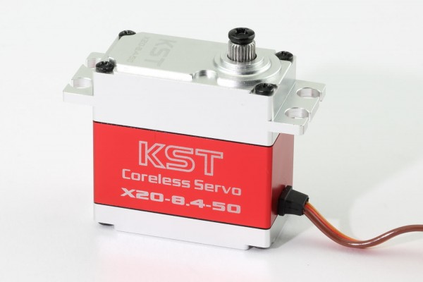 KST X20 8.4-50 · 21 mm digitales HV-Servo bis 450 Ncm · Big Scale