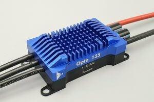 YGE 135 HVT Opto · Telemetrie Brushless Regler von YGE