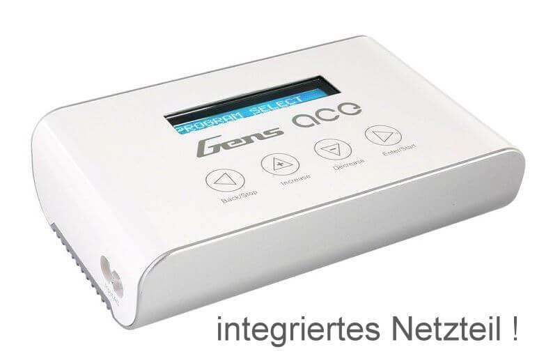 GensAce Imars III Ladegerät · 100 W · 5 A · 6S · integriertes Netzteil