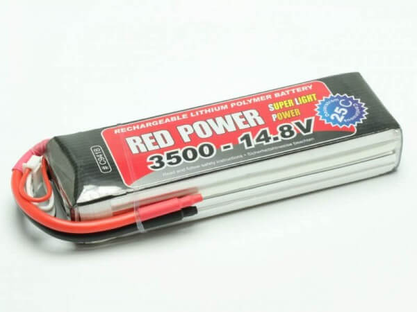 Red Power SLP 3500 mAh 4S Lipo (14,8V) 25 C