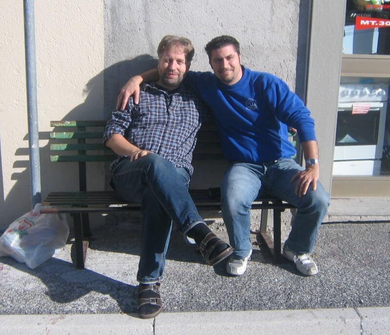 Patrick Häusler und Artur Blömker · DS in Italien · Oktober 2006