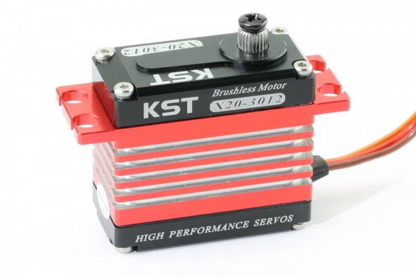 KST X20-3012 V2 · 20 mm digitales Brushless-HV-Servo bis 350 Ncm