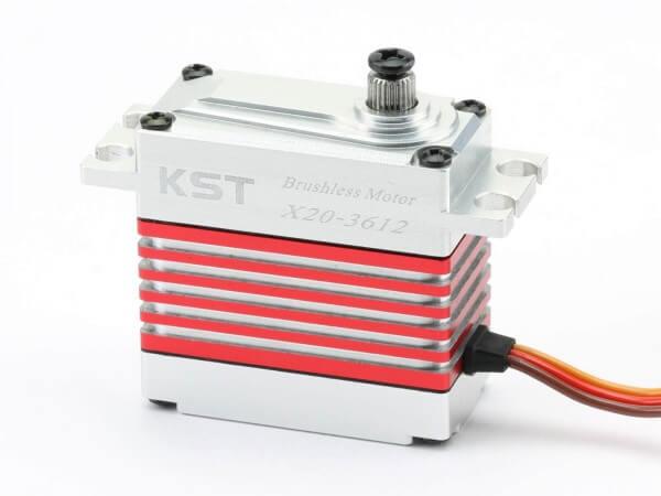 KST X20-3612 · 20 mm digitales Brushless-HV-Servo bis 400 Ncm